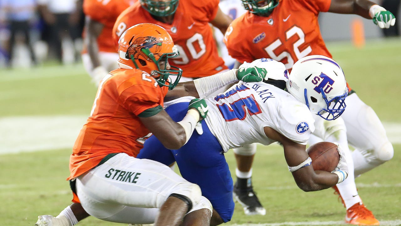 Watch it: FAMU linebacker Jakaris Wilson recaps loss to Tennessee State
