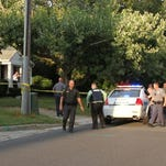 Salisbury City Police, Maryland State Police, Wicomico County Sheriff Department and Salisbury University Police on the scene of a murder that happen on Onley Road in Salisbury in September of 2013. When law enforcement got on the scene, it took them hours to figure out who's juristiction the murder was in.