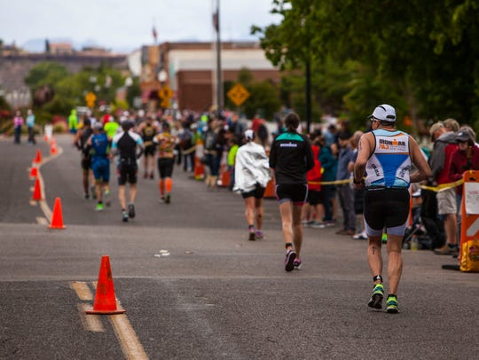 St. George Ironman, Saturday, May 7, 2016.