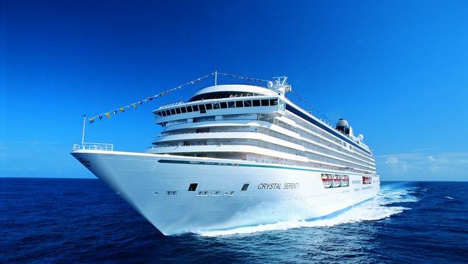Crystal Cruises' Crystal Serenity.