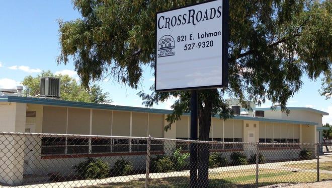 Photo of the main building for the Las Cruces Public Schools CrossRoads program.