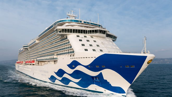 The 3,560-passenger Majestic Princess was built and designed specifically for the Chinese market.