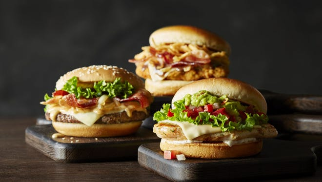 The McDonald's Signature Crafted Recipes line are more upscale.