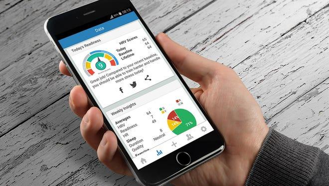 Asheville residents Jason and Alyssa Moore and Vivek Menon run Elite HRV, an app that markets itself as a non-invasive measure of the autonomic nervous system.