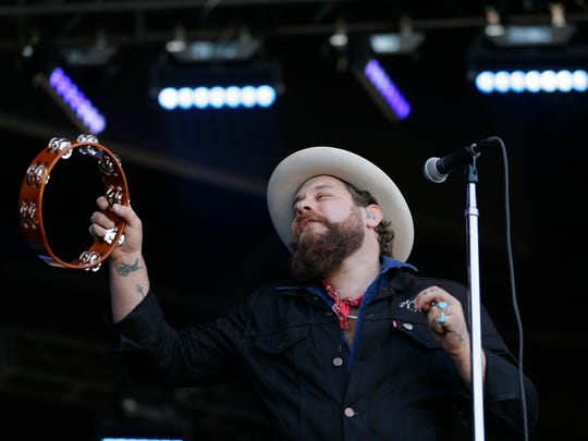 Nathaniel Rateliff performs during the Monterey International