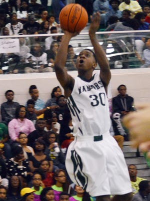 Peabody sophomore guard Cedric Russell committed to LSU basketball coach Johnny Jones on Saturday. Russell, who averaged 14.5 points per game as a freshman, is the first commitment in the Tigers' 2017 recruiting class.