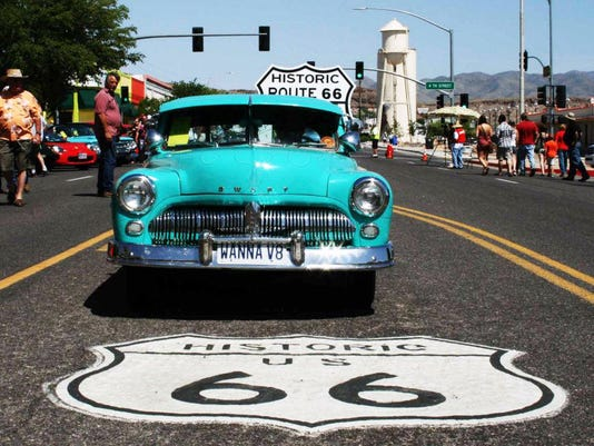 Route Fun Run And Other Car Shows - Route 66 car show