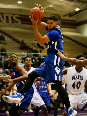 Franklin Central's Marcus Burk had a strong case for the Indiana All-Stars.