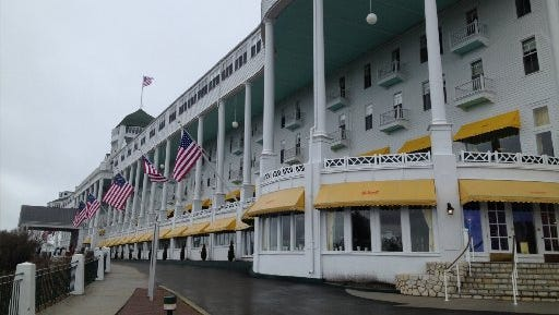 The Grand Hotel on Mackinac Island is playing host to the 2015 Mackinac Policy Conference.