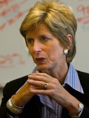 Christine Todd Whitman, former head of the U.S. Environmental Protection Agency and the two-term governor of New Jersey.