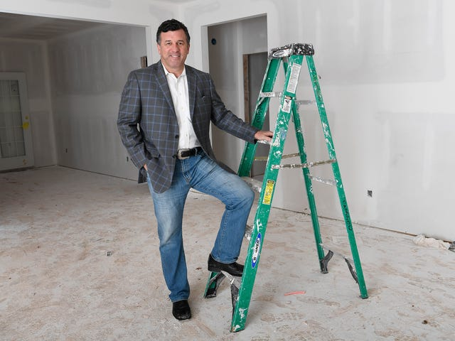Bruce McNeilage of Kinloch Partners is developing a new rental subdivision, Fairview Station, in Fairview, Tenn.