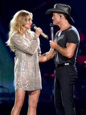 Faith Hill and Tim McGraw were nominees for the 2018 ACM Awards.