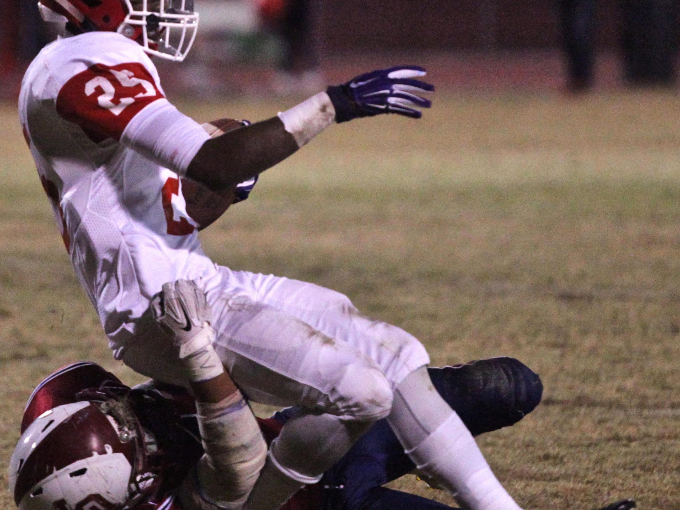 The La Quinta Blackhawks hosted the Oak Hills Bulldogs for one of the CIF semifinals on Friday.
