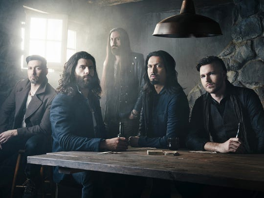 Green Bay has been a strong market for Michigan rock band Pop Evil from the start.
