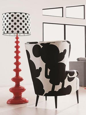 This Mickey Mouse chair is available at Ethan Allen as part of the store's new Disney collection.