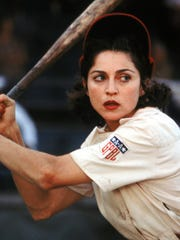 "Madonna steps up to the plate in ""A League of Their Own."""