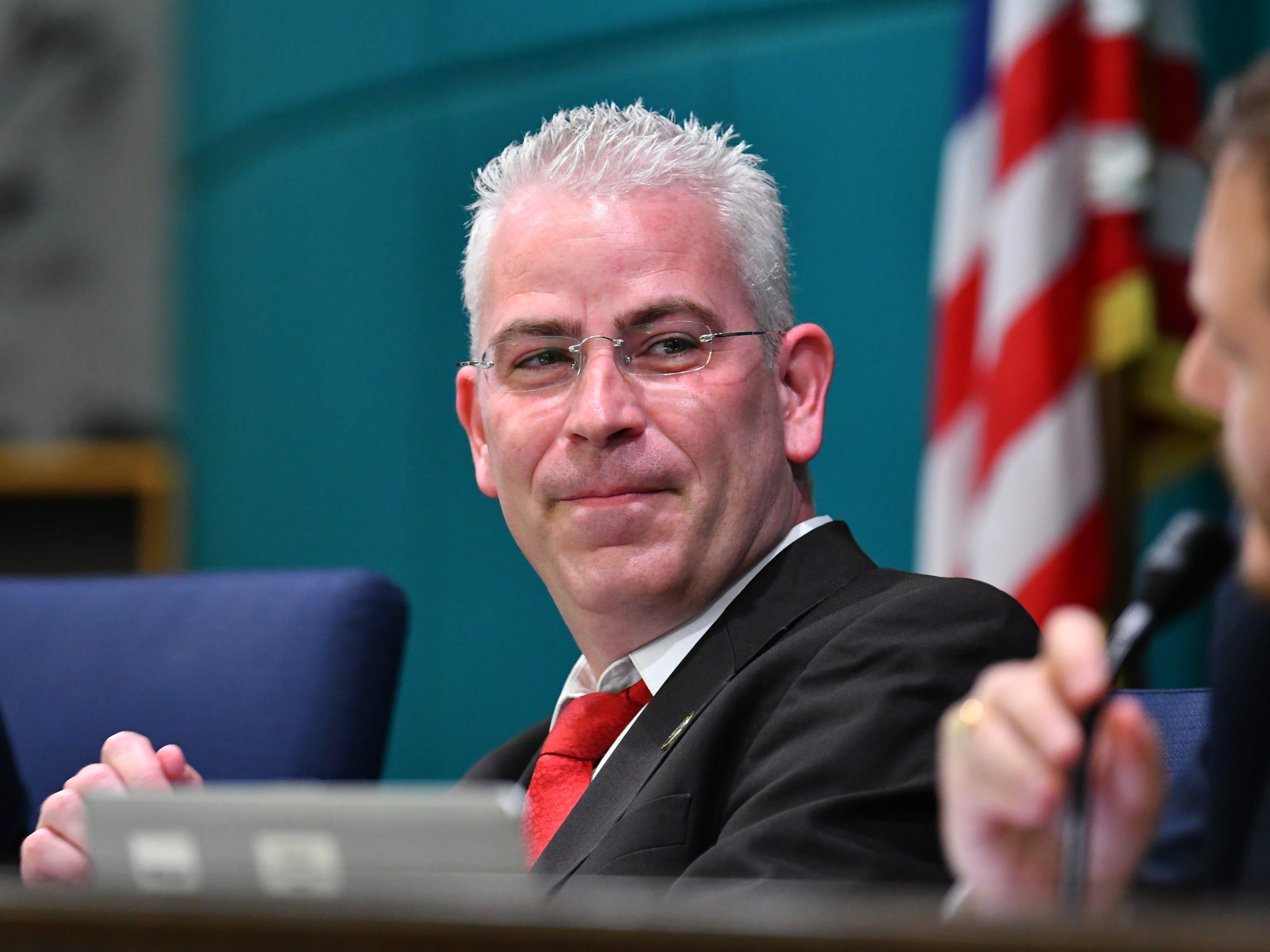 Palm Bay City Councilman Tres Holton