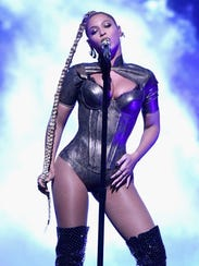 Beyonce performs onstage during TIDAL X: 1015 on October