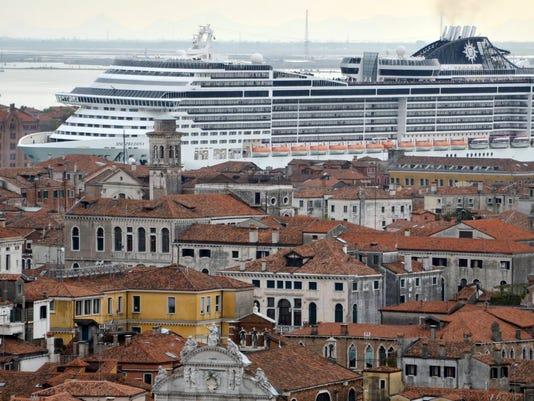 EPA (FILE) ITALY VENICE TOURISM UNESCO WORLD HERITAGE ACE MONUMENTS & HERITAGE SITES ITA