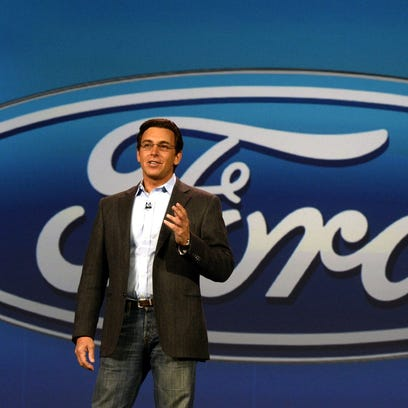 Mark Fields, president and CEO of Ford Motor Company.