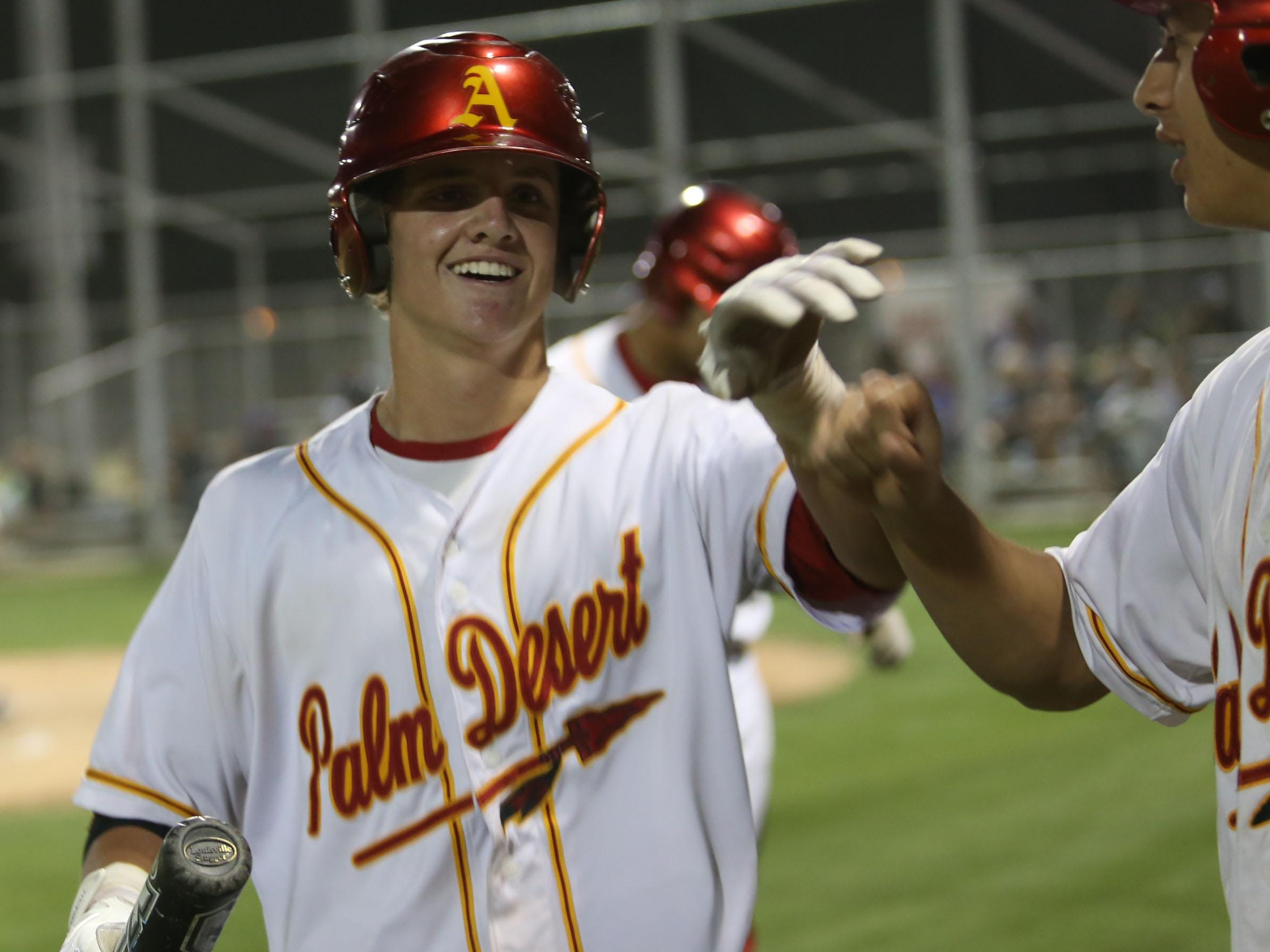 Palm Desert grad Travis Moniot may be selected in next week's MLB First-Year Player Draft. He's committed to play at the University of Oregon, but could have to decide between at least three years of college or heading straight to the minor leagues.