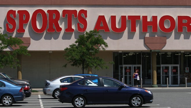 The Sports Authority store located in the Midstate Mall in East Brunswick is slated to close.  MARK R. SULLIVAN/STAFF PHOTOGRAPHER