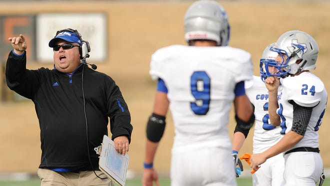 Richland Springs head football coach Jerry Burkhart has an astounding record of 184-8  with eight state titles since taking over the program in 2003.