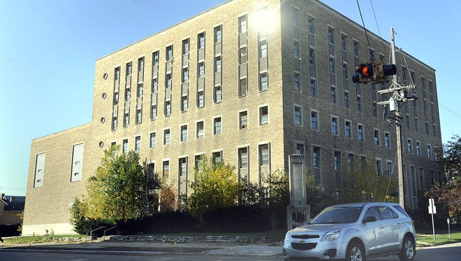This vacant building at 301 W. Lenawee St. in Lansing once served as the downtown YMCA.