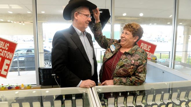 Daryl and Kay Rogers, owners of Rogers Jewelers, are retiring this year and will close their business, which has served Great Falls for 42 years. AutoZone will raze their building and build a second store there.