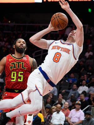 New York Knicks forward Mario Hezonja has had an inconsistent season.