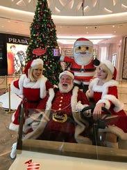 Santa Ron, a graduate of the Professional Santa Claus