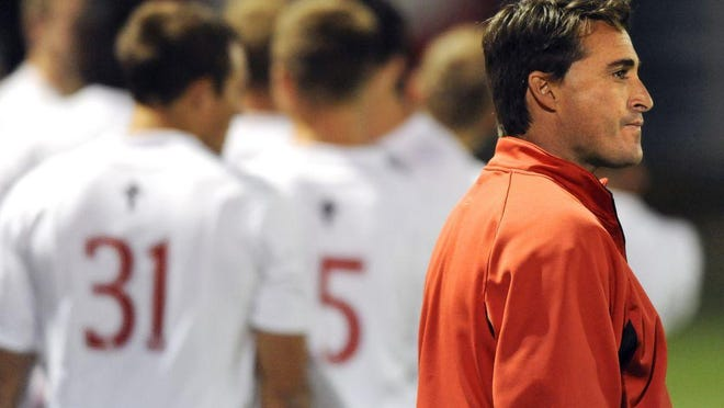 It's the 25th year at Bradley University for soccer coach Jim DeRose. But his team won't be playing games until at least the spring. Until then, he looks back on his quarter century in Peoria.