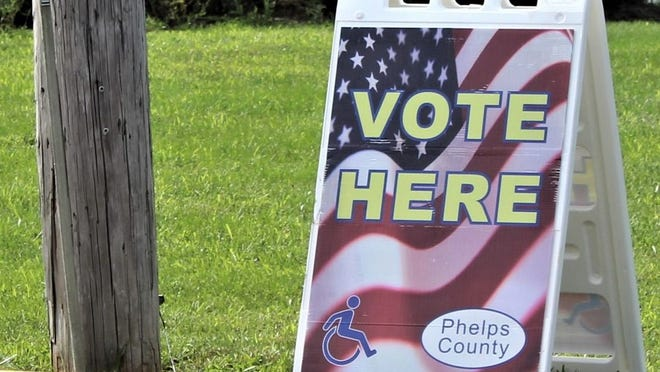 In Phelps County,  the unofficial results show that 30.7% voter turnout was recorded compared to 25.4% during the August primary in 2016.