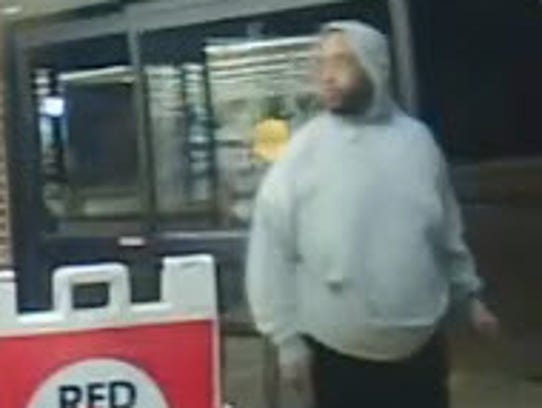 Police on Monday released this photo of the suspect