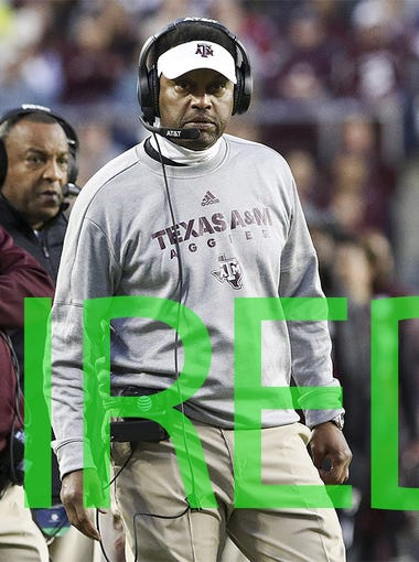 Kevin Sumlin was hired by Arizona. The former Texas A&M and Houston coach has an 86-43 record over 10 seasons.