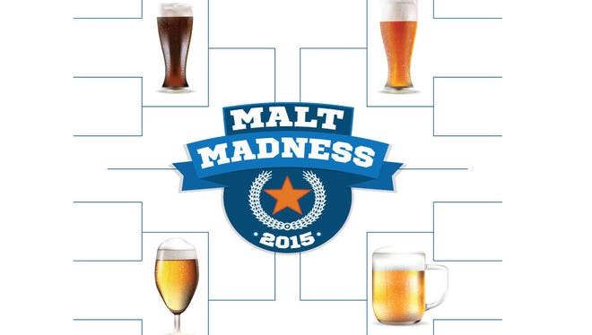 Follow IndyStar's bracket of local craft beers. Vote at IndyStar.com/MaltMadness.