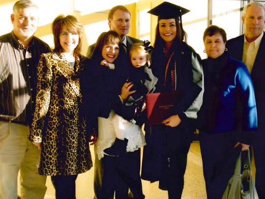Kelsea at Graduation