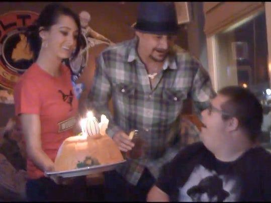 Watch: Kid Rock Surprises Fan, Makes Birthday Wish Come True