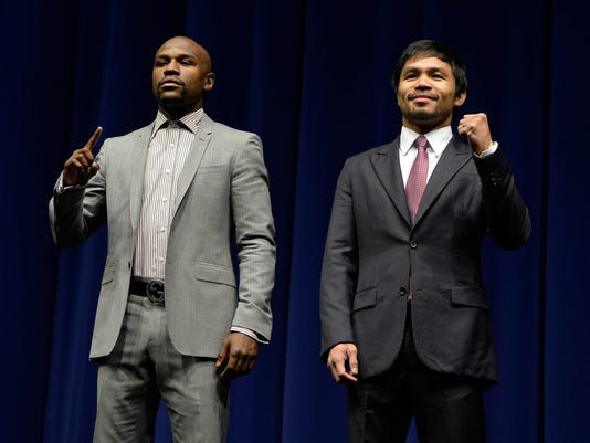 MAYWEATHER VS PACQUIAO-PRESS CONFERENCE
