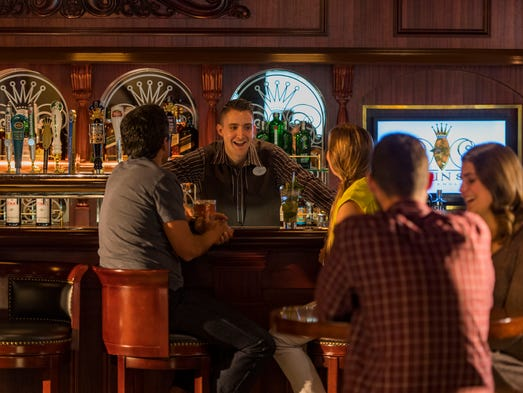 Guests experience Crown & Fin Pub – an authentic English