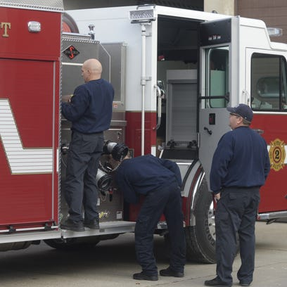 Two new Richmond Fire Department firetrucks were delivered
