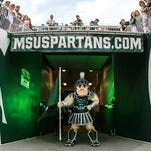 "Michigan State University Mascot ""Sparty"""