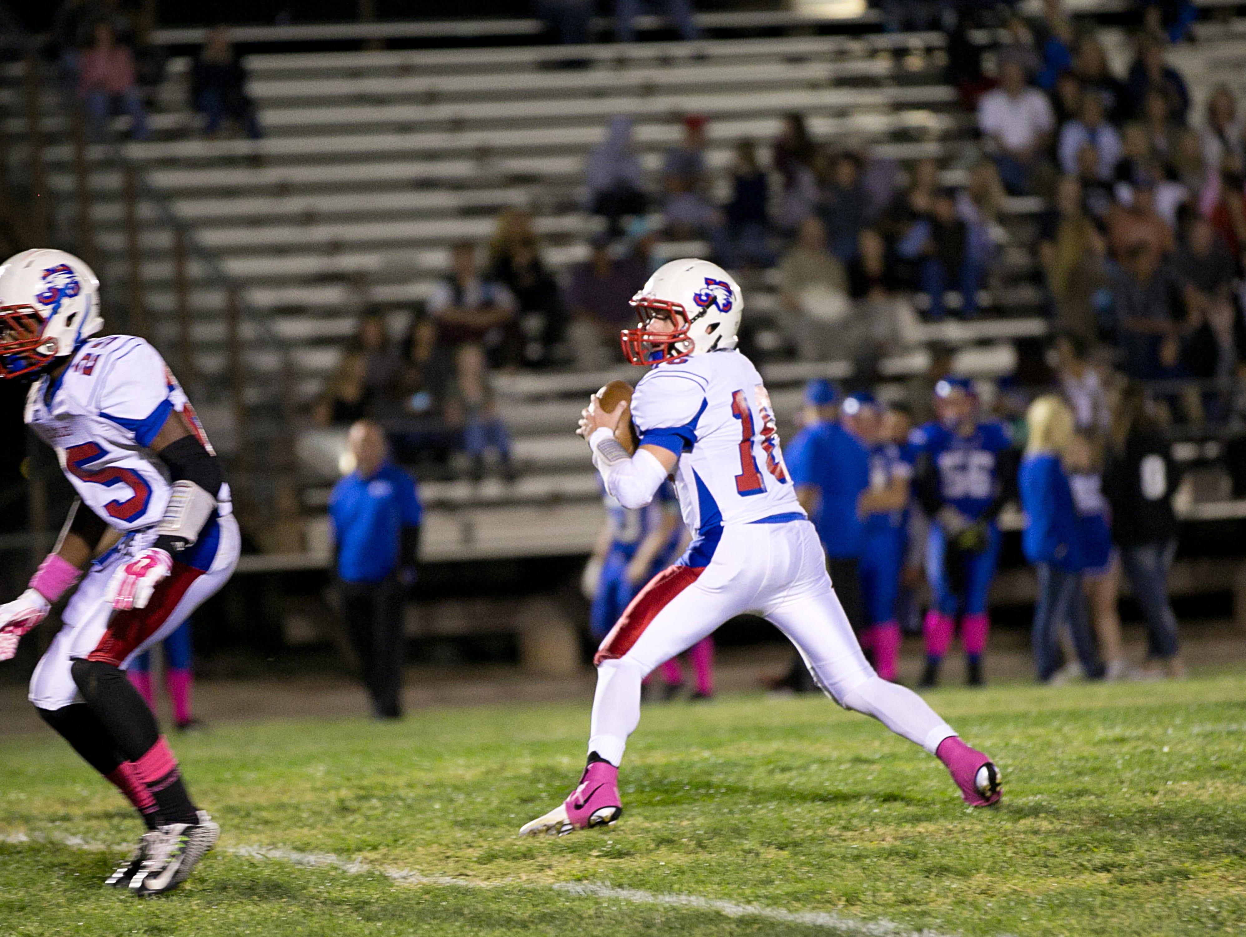 Joy Christian quarterback Matt Mitchell could play in any division in the state.