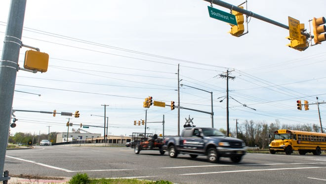 The intersection of Sherman Ave and the Boulevard which is the location of several accidents and may be studied by the city of Vineland.