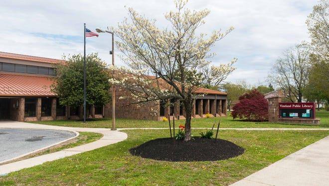 The Vineland Public Library on Monday, April 30.