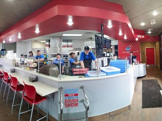 A new Domino's concept restaurant is scheduled to open