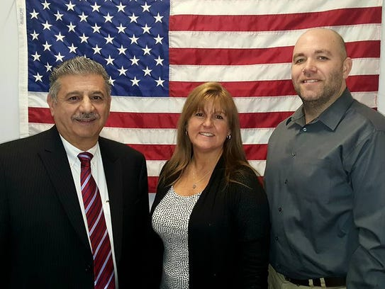 Republican candidates John Cappo, Jr., Lori Mambelli