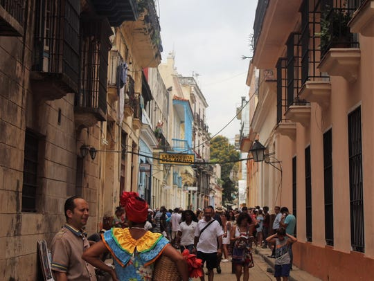 Skylar Bartman snapped this picture while touring Havana