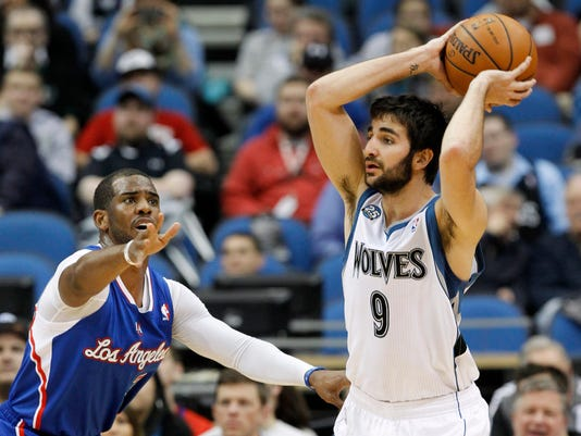 Clippers Timberwolves Basketball