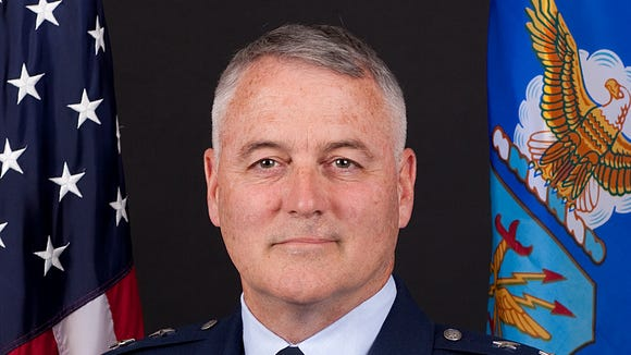 AP Air Force General Fired